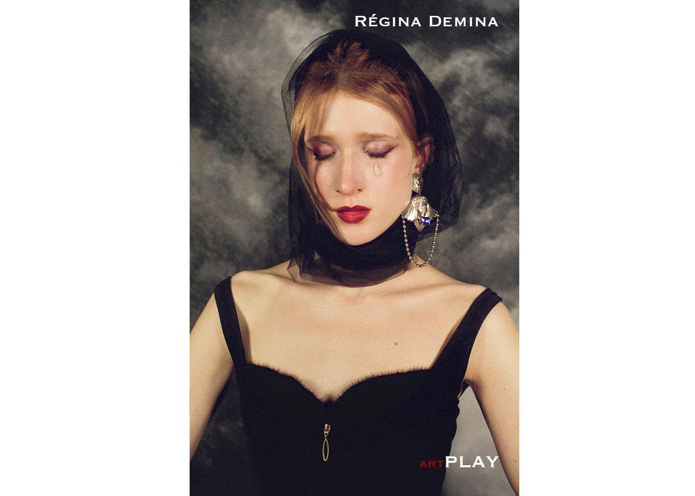 Interview feature Regina Demina   ART PLAY MAGAZINE